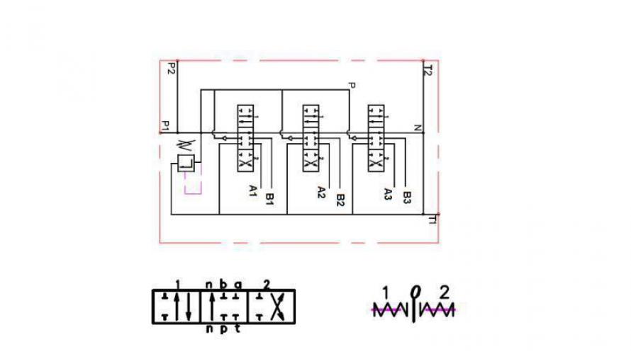 Kézi vezérlésű 3xP40