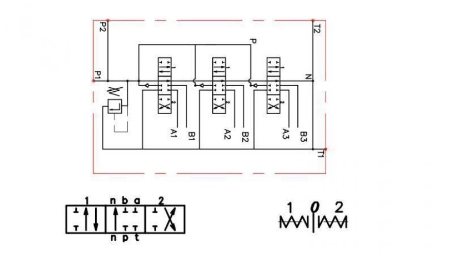 Kézi vezérlésű 3xP80